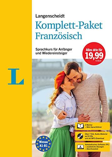 Langenscheidt Komplett-Paket Französisch: Sprachkurs mit 2 Büchern, 8 Audio-CDs, MP3-Download, Software-Download: Sprachkurs für Einsteiger und Fortgeschrittene