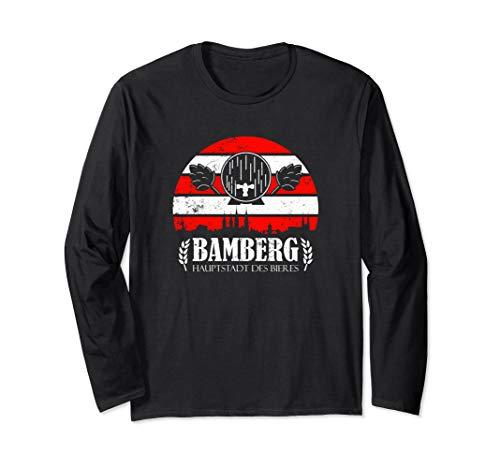 Bamberg Geschenk für einen Bamberger Bier Liebhaber Langarmshirt