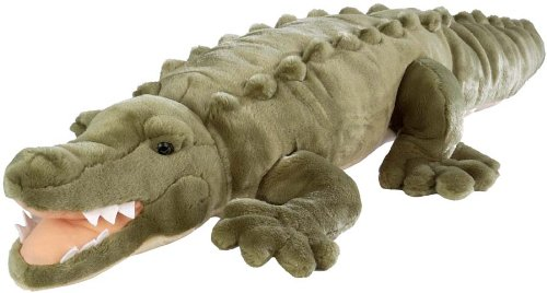 Wild Republic Jumbo Crocodile Giant Stuffed Animal, Plush Toy, Gifts for Kids, 30""