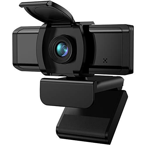 Wansview Webcam 1080P Webcam mit Mikrofon, USB Kamera für Desktop, Laptop, kompatibel mit Windows, Mac, für Videoanruf, Konferenz, Online-Unterricht, Spiel