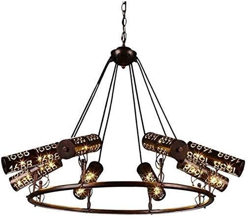 Iluminación Moderna Lámpara Colgante, Tres -Jefes Negro Ocho Lámparas de Mesa de Billar, American Personalidad Creativa Pool Hall candelero sin Sombra de la lámpara Regalos AA +