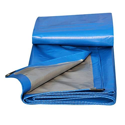 AI LI WEI dekzeil blauw PE stofdicht en waterdicht isolatie -200g/M2, dikte 0,31 mm, 7 maten om uit te kiezen, grootte kan worden aangepast (Maat: 3x5M) dekzeil