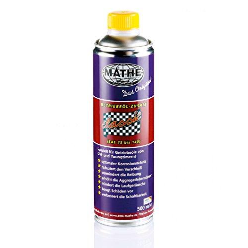 MATHÉ Classic Getriebeöl-Zusatz 500 ml für mineralische Getriebeöle und Youngtimer & Oldtimer