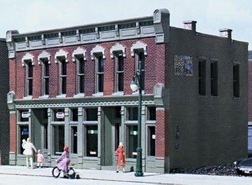 online barato Woodland Scenics 12000 HO-Scale KIT KIT KIT Front Street Building, Realistic, DPM by Woodland Scenics  soporte minorista mayorista