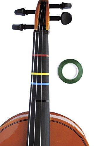 Jumbo grün Farbe Violine Griffweise Klebeband für Griffbrett Note Positionen