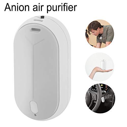 Mini Air Freshener Ionizer Ketting USB Opladen Draagbare Luchtzuiverer Persoonlijke Ionische Luchtfilter Negatieve Ion Luchtverfrisser Ultra Rustige PM2.5