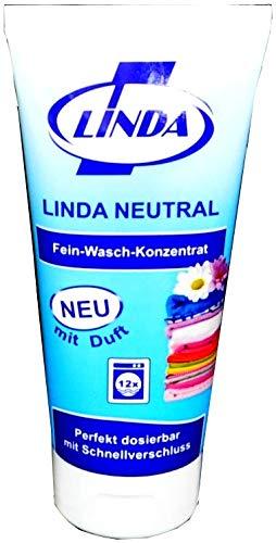 Linda Neutral Fein-Waschmittel-Konzentrat mit Duft, 200 ml