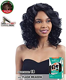 MODEL MODEL LACE FRONT DEEP INVISIBLE L-PART HAND TIED - FLASH MEADOW (1B-OffBlack)