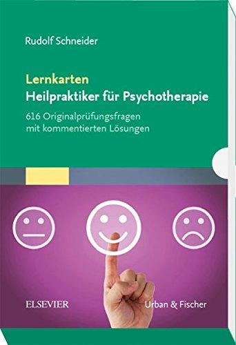 Lernkarten Heilpraktiker für Psychotherapie: 616 Originalprüfungsfragen mit kommentierten Lösungen