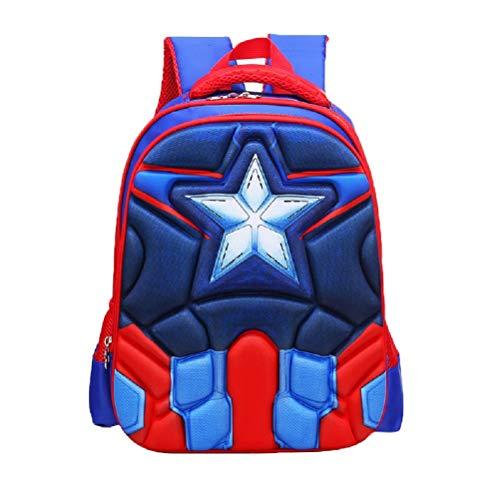 Samanthajane Clothing: Mochila infantil Azul Capitán America