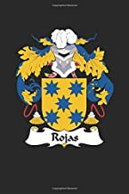 Rojas: Rojas Coat of Arms and Family Crest Notebook Journal (6 x 9 - 100 pages)