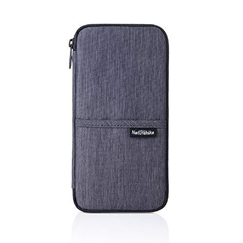 Naturehike Multi Function Bag Outdoor de l'argent, Passeport, Carte Multi Utiliser Wallet Voyage NH17C001-B