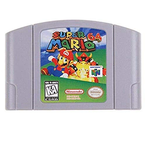 New Super Mario 64 Video Game Cartridge US Version For Nintendo 64 N64 Game Console