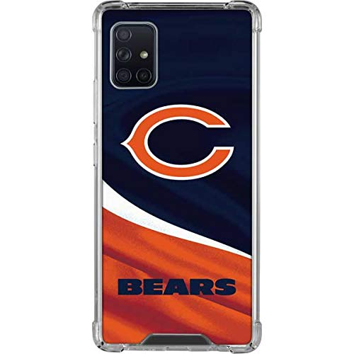 Skinit Clear Phone Case Compatible with Galaxy A51 5G - Officially Licensed NFL Chicago Bears Design