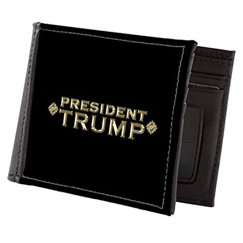 CafePress President Trump Full Bleed Mens Wallet Mens Wallet, Bi-fold Wallet, Billfold Money Holder