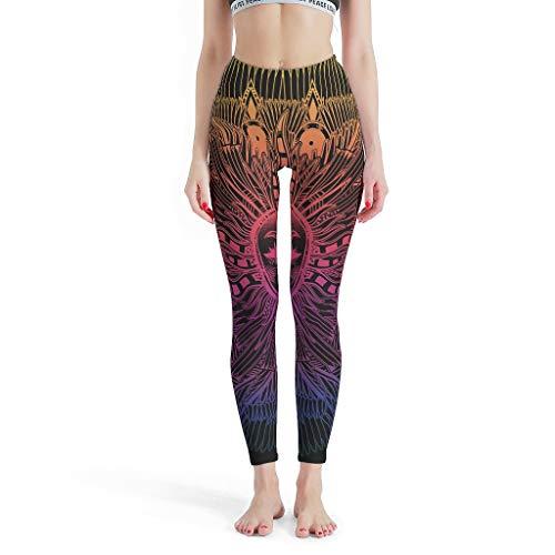 NiTIAN dames theme yoga broek elastische ademende Capri Fitness Fitness Studio Joggingbroek Muay Thai