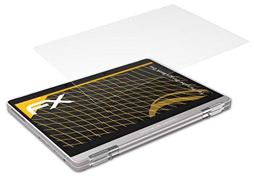 atFolix Panzerfolie kompatibel mit Porsche-Design Book One Schutzfolie, entspiegelnde & stoßdämpfende FX Folie (2X)