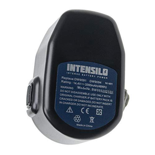 INTENSILO Batería compatible con Dewalt DW996KQ herramientas eléctricas (3300mAh NiMH 14,4V)
