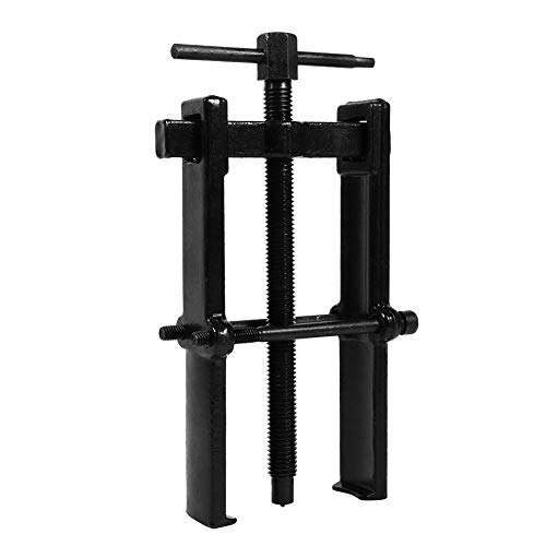 sourcingmap Auto Car Straight Type Dual Claws Bearing Separator Puller Kit Black