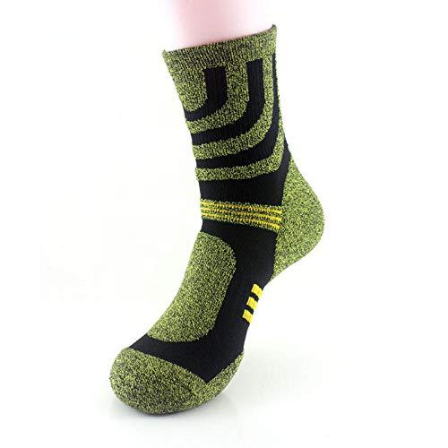 TIGERROSA ademende sokken 3 paar / gelukkige compressiesokken grappig mannen trekken haar beweging mannen sokken chaussette homme groen aan