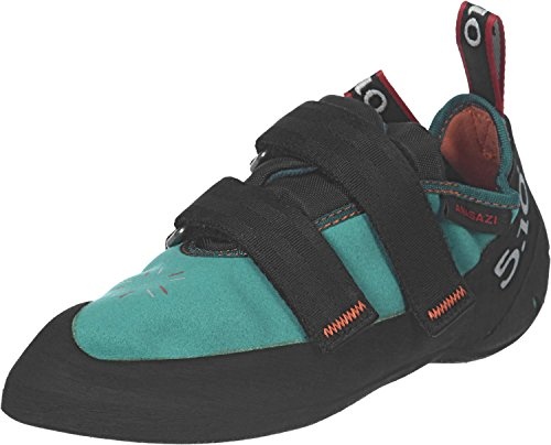 Five Ten Women's Anasazi LV Climbing Shoe,Teal,8 M US