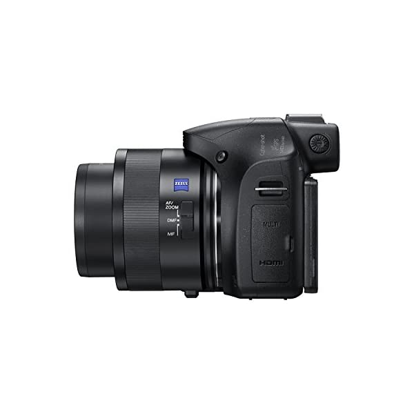 RetinaPix Sony Cybershot DSC-HX400V 20.4MP Digital Camera (Black) with Free Bag + SanDisk 128GB Ultra SDXC UHS-I Memory Card - 100MB/s, C10, U1, Full HD, SD Card