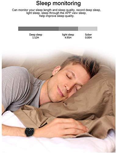 QTQZDD Smart Watch mannen met camera, Bluetooth 4.0, ondersteuning 3G wifi simkaart stappenteller, weer- en slaaptracker, smartwatch 1 1