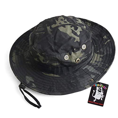 SHENKEL ブーニーハット 2WAY マルチカムブラック サバゲー サバイバルゲーム 帽子 hat-001mcb