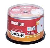 imation イメーション 1回録画用 CPRM対応 DVD-R 120分 IM031 片面1層 1-16倍速 50枚