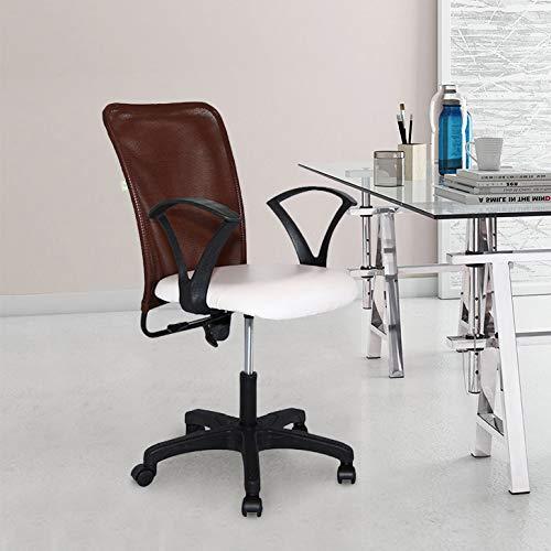 TIMBER CHEESE Ergonomic Chair (Plastic ,White,1 Piece)