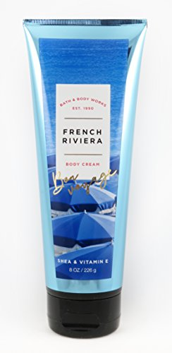 Bath & Body Works 8 Ounce Body Cream French Riviera