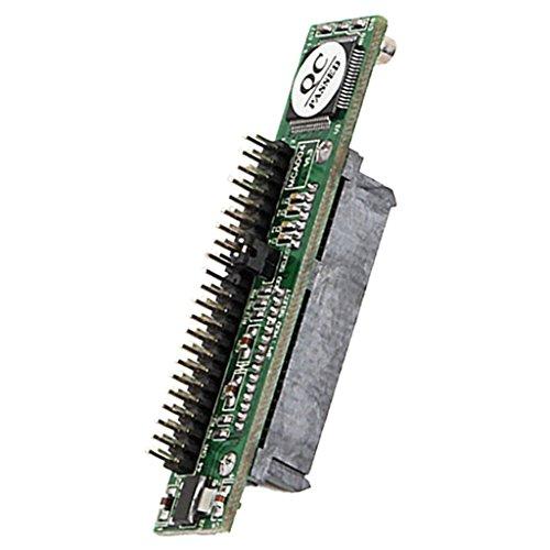 2.5Zoll SATA 22 Pin Buchse auf 44Pin IDE Stecker HDD SSD Adapter Konverter Laptop SATA zu IDE-Karte, 44-polige IDE-Buchse für 2,5-Zoll-Notebook