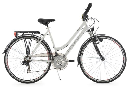 KS Cycling Trekkingrad Damen 28'' Vegas weiß RH48cm Multipositionslenker