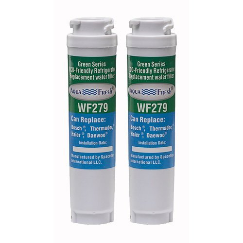 Aqua Fresh Ultra Clarity Replacement Water Filter Compatible With Bosch 644845, 9000077104, 9000194412, 0060820860, 0060218744, KWF1000 (2 Pack)