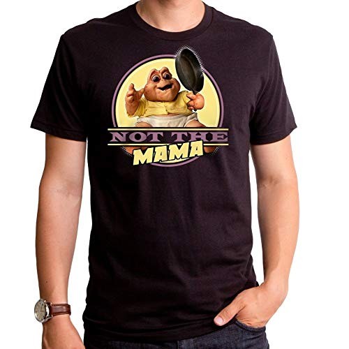Dinosaurs not The Mama with pan Black tee