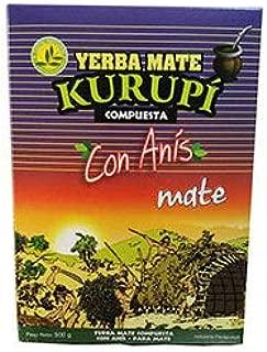 Yerba Mate Kurupi Con Anis Especial para Mate