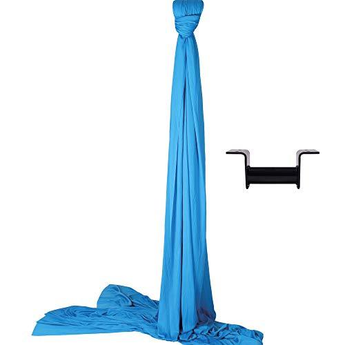 Diabolo Freizeitsport Vertikaltuch Set | 6m in blau inkl. Vertikaltuchaufhängung für die Decke (Made in Germany) +...
