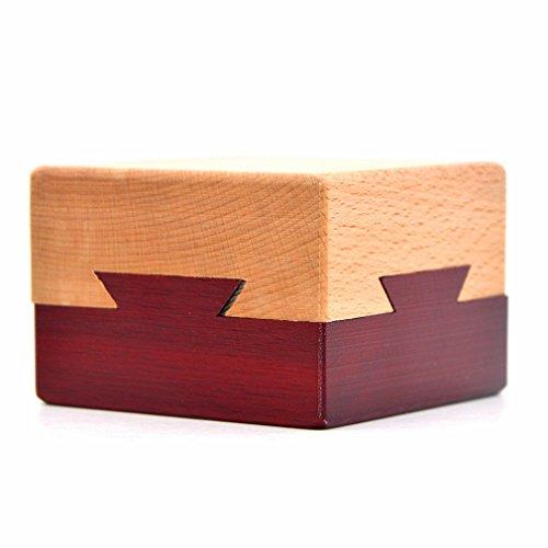 Casella di puzzle di apertura segreta di legno scatola di regalo misteriosa...