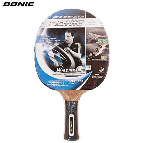 Donic-Schildkröt Tischtennisschläger Waldner 700, ABP-Griff, 2,0 mm Schwamm, Donic 3-Stern ITTF Belag, 754872