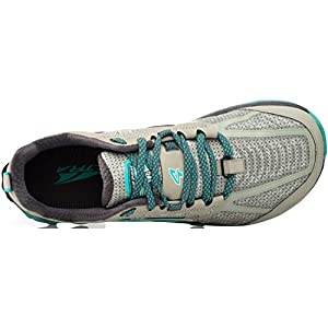 ALTRA Women's ALW1855L Lone Peak 4 Low RSM Waterproof Trail Running Shoe, Grey - 10 M US