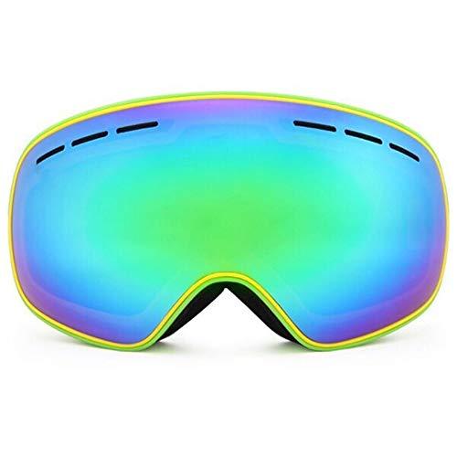 N\A Gafas de Snowboard de esquí Recién llegados Gafas de esquí Doble Capas UV400 Anti-Niebla Máscara de esquí Gafas Esquí Hombres Mujeres Invierno Snow Deportes Snowboard Gafas R18