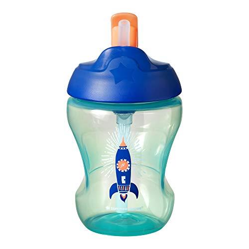 Tommee Tippee 44701381 - Taza easy drink con pajita, 6 meses +