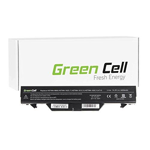 Green Cell Standard Serie ZZ06 ZZ08 Laptop Akku fur HP ProBook 4510s 4515s 4710s 4720s 8 Zellen 4400mAh 144V Schwarz