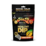 TeaZa Herbal Energy Pouch - Tobacco Alternative | 25 Pouch Pack | Mango Habanero