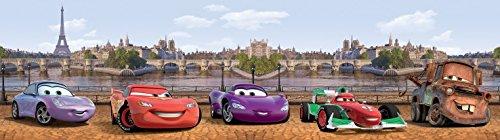 1art1 Cars - Cars Bordüre Tapeten-Borte Selbstklebend 500 x 10 cm