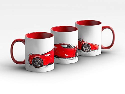 gasoline.gallery Tasse - Ferrari Enzo - 2003 Kaffeebecher Rot