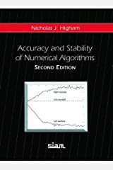 Accuracy and Stability of Numerical Algorithms Hardcover