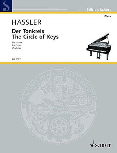 Der Tonkreis: 51 ausgewählte Stücke und Studien in allen Dur- und Moll-Tonarten. Klavier. (Edition Schott)