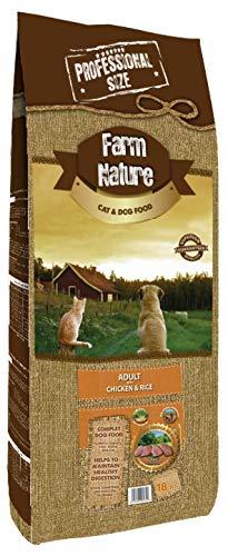 18 KG Farm nature chicken/rice hondenvoer