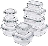 Best Tupperware Sets - Utopia Kitchen Glass Food Storage Container Set Review